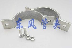 生产扁钢管夹