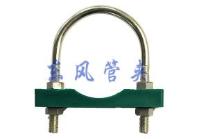 U型管型管夹